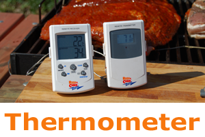 Royaal BBQ - thermometer